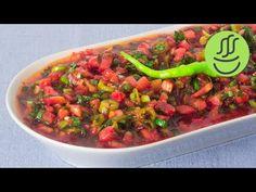 Acili ezme I scharfer Tomaten-Paprika Dip I Chili-Dip I mezze I türkische Vorspeise - YouTube