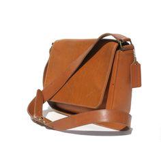 Coach Tan Leather Shoulder or Cross Over Bag