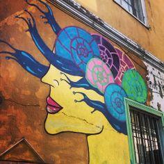 Streetart, Valparaiso, Chile