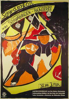 By Otto Obermeier (1883-1958), 1934, Schwabylon. (G)
