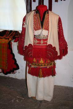 Costume from Smilevo, Miyak.