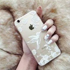 Imagen de iphone, nails, and case