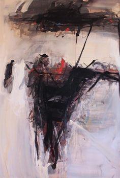 "Tom Lieber   Cadogan Contemporary   Red Dot Square, oil on canvas, 72"" x 48"" (182.9cm x 121.9cm)"