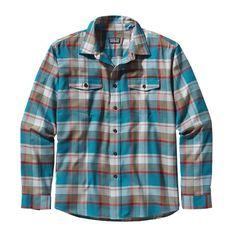 Patagonia Men's Long-Sleeved Buckshot Shirt - Dapper Dan: Tobago Blue (DDTB)