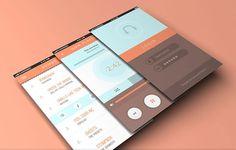 Music App for Mobiles PSD