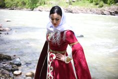 Folk dress карачаевское национальное платье. #arelier_Aibazova
