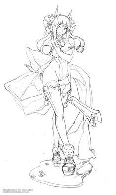 25번째 이미지 Body Drawing, Woman Drawing, Character Art, Character Sketches, Character Design, My Drawings, Drawing Sketches, Manga Art, Anime Art