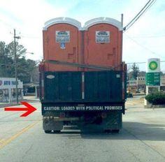 Funny lorry sticker