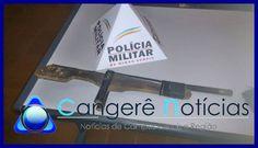 Menor é apreendido por roubo em Campos Gerais-MG