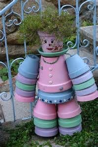 Clay Pot Crafts - Bing Images