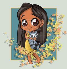 Me encanta el chibi, me encanta el disney y es que una mezcla de ambos *__* Genialoso. La Sirenita: Pocahontas Mulan ...