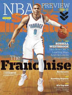 Russell Westbrook on the cover of Sports Illustrated