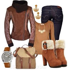 Comfy winter outfit!