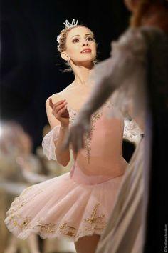 """Ballerina Alina Somova in Sleeping Beauty as Princess Aurora -Photo by © Svetlana Avvakum"" Ballet Images, Ballet Photos, Ballerina Dancing, Ballet Dancers, Ballet Art, Ballet Girls, Ballet Costumes, Dance Costumes, La Bayadere"