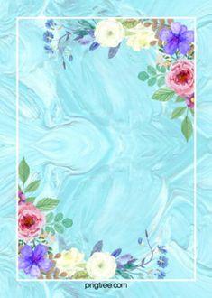 Brief Art Flower Poster Background Summer Backgrounds, Flower Backgrounds, Flower Wallpaper, Colorful Backgrounds, Watercolor Flower Background, Leaf Background, Paint Background, Pattern Background