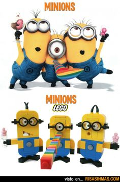 The site's in Spanish, but you could figure out the directions for Lego Minions from the picture