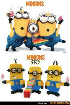 more LEGO minions