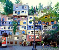 Casa Hudertwasser - Austria