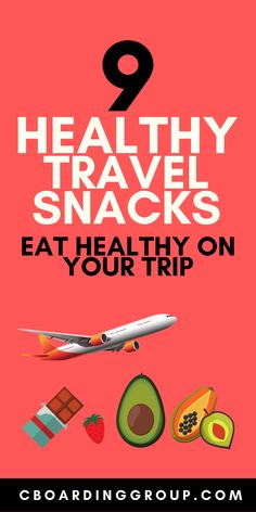 """Fight the """"travel bulge"""" by eating healthier on the road with this list of Healthy Travel Snacks. Travel smarter and healthier on your next trip! Healthy Travel Snacks, Eat Healthy, Plane Snacks, Road Trip Food, Nut Allergies, Eat Smart, Foods To Eat, Stay Fit, Travel Ideas"""