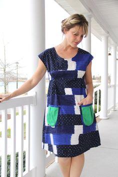 Dottie Angel Dress - Simplicity dress pattern