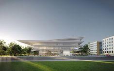 Renzo Piano to Break Ground on Des Moines' Kum & Go Headquarters,© RPBW