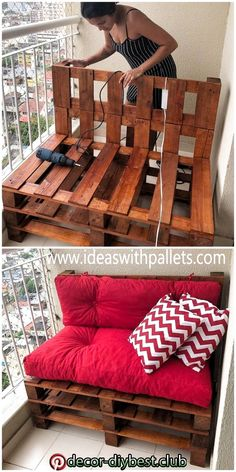 Pin by Stephanie Vogel on Diy M bel in 2020 Diy pallet furniture Wood pallet diy furniture m bel pallet pin stephanie vogel wood # Diy Furniture Couch, Wood Pallet Furniture, Furniture Projects, Balcony Furniture, Outdoor Palette Furniture, Furniture Plans, Furniture From Pallets, Furniture Makeover, Garden Furniture