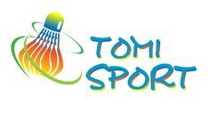 Logo design, badminton logo, sport logo, sport branding, shuttlecock logo, color logo badminton, gradient logo, dynamic logo