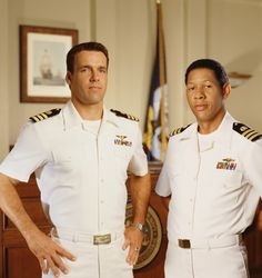 Commander Harmon Rabb Jr and Commander Sturgis Turner