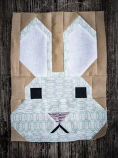 Bunny Block / Fancy Forest Quilt