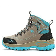 Women's Outdoor Professional Hiking Boots Trekker Ankle Waterproof Hiking Shoes * Be sure to check out this awesome product. (This is an affiliate link) #Outdoor