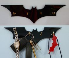Classic Batman Key Rack / Jewellery Organiser by 2D23D on Etsy