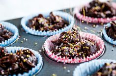Speckled chocolate cornflakes | From the @Russ Maloney British Chefs Cooking with Kids collection | Tesco Real Food