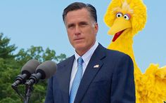 Internet users launch Indiegogo campaign to save Big Bird after Romney pledges to cut funding to PBS if elected.