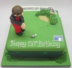 birthday cake golfer - Google Search