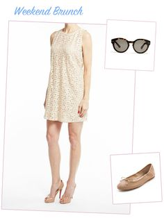 cute outfit for a summer weekend brunch
