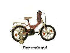 Meisjesfiets Altec Tuana Wit - Roze 16 Inch | bestel gemakkelijk online op Fietsen-verkoop.nl