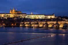Charles Bridge and Prague Castle, Prague, Czech Republic