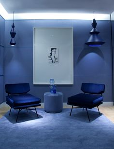 Hope your weekend will be the same bright as the Modern Chairs collection of Colorful Summer Living Room Furniture Trends Pantone, Colour Architecture, Bleu Indigo, Top Interior Designers, Blue Rooms, Design Furniture, Personal Shopping, Modern Chairs, Decoration