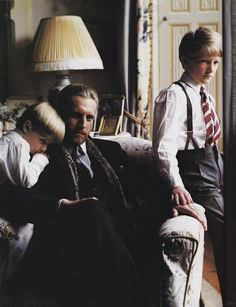 Ralph Lauren-1984-Bruce Weber.. loved this : for color of walls and colfax drapes!