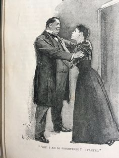The Copper Beeches, Sidney Paget, The Strand Magazine, June 1892