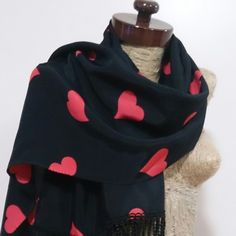 New fringe love scarf just 2 items Fast shipping by standart shipping