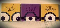 Minions canvas  www.instagram.com/lojamoviesegamese