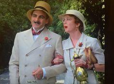 Love David Suchet as Hercule Poirot on PBS.