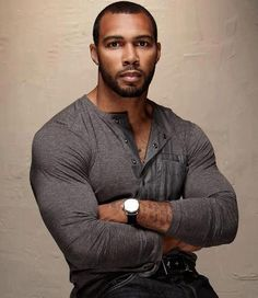 MORNING WOOD - Omari Hardwick (Actor) - Baller Alert.com