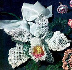Orchid Flower Pattern   Crochet Patterns ~ free pattern