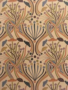 Pelagia by Liberty Art Fabrics is a modern pattern c. 2007 inspired by Art Nouveau designs ❤