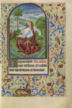 """""""Book of Hours,"""" Master of Jacques of Luxembourg, about 1466-1470, French."""