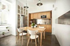 polish apt kitchen 3 665x443 Sweet Little Apartment In Poland