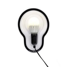 Sticky Wall Lamp - Clear
