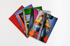 Rainbow Wall Decor Idea Postcard Set of 5 Fine Art Print Gift Idea. $11.00, via Etsy.